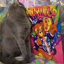 $22UPS1Day/$6USPS LISA FRANK Easter Puzzle Sealed stickers Rollouts Stamp Kitty image 10