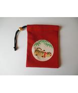 Japanese sachet bag, Japanese drawstring pouch, miniature coin purse, po... - $20.00