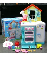 Peppa Pig's Nick Jr Little Kitchen Deluxe Child Size Playset Complete +B... - $349.99