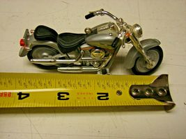 Harley-Davidson FLSTF FATBOY 1990 Motorcycle Model 4 inches long image 3