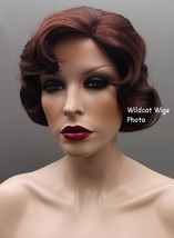 Quality Finger wave Wig - Rose Color 33 - Dark Auburn .BEST SELLER Downt... - $34.99