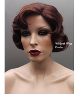 Quality Finger wave Wig - Rose Color 33 - Dark Auburn .BEST SELLER Downt... - $34.99
