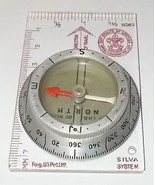 Vintage Boy Scout of America BSA Hiking Pathfinder Compass Silva System - $19.95
