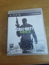 Call Of Duty: Modern Warfare 3 MW3 PlayStation 3 (PS3) with user manuel - $8.95