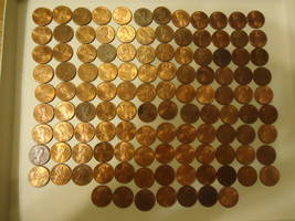 1998-D LOT OF 115 COINS --LINCOLN CENTS >>> COMBINED SHIPPING  - $5.94