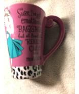HALLMARK COFFEE MUG--GIRLIE--BAGGAGE-- -FREE SHIP--NEW - $17.27