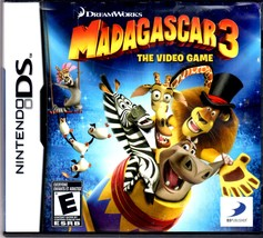 Nintento DS - Madagascar 3: The Video Game  - $22.50