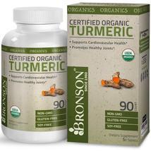 Bronson Natural Organic Turmeric Curcumin 90 Tablets - $96.99