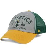 Oakland Athletics 47 Brand MLB Baseball Flathead Team Logo Meshback Cap Hat - $19.94