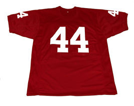 Forrest Gump #44 Movie New Men Football Jersey Maroon Any Size image 1