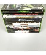 Microsoft Xbox Video Game Lot 10 Game Bundle Hulk Soul Calibur Tao Feng ... - $59.99