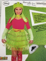 Costume Girls Kermit The Frog Dress Up the muppets Disney NWT - $5.00
