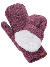 New! D&Y Women's Soft Cozy and Warm Fuzzy Lining Two Tone Mittens - $11.99
