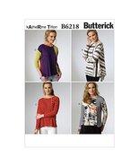 Butterick Patterns B6218B50 Misses Top, B5 (8-10-12-14-16) - $14.70