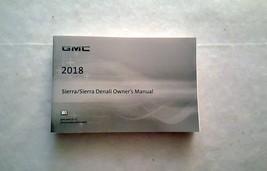 2018 GMC Sierra / Sierra Denali Owners Manual 04650 - $34.60