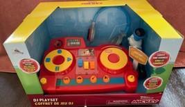 Disney Mickey Mouse DJ Play Set Lights Sound Effects Microphone Headphones New! - $44.51