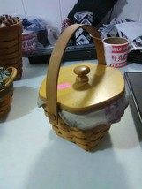 Longaberger Swing Handle Horizon of Hope Basket - 2000 - American Cancer Society - $11.91