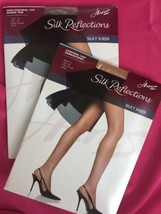 HANES Silk Reflections Silky Sheer AB Non Control Top Sandalfoot 717 715... - $3.96