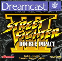 Street Fighter III Double Impact Sega Dreamcast  Disk Only - $104.56