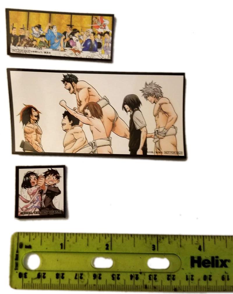 "Set of (3) ""Not for Sale"" Furoku Anime Magnets"