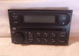 02-04 Nissan Frontier Xterra Radio Cd Face Plate & Knob CY13B BB10138 - $8.48