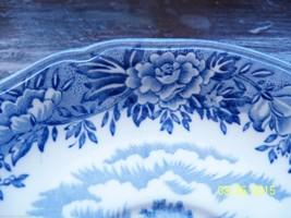 vintage blue salem china SAUCER plate olde staf... - $19.80