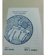 "RARE 1965 Sapagkat Kami""Y Tao Lamang Sheet Music ""Filipino"" Levi Celero ... - $88.20"