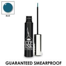 Lip Ink Semi-Permanente Delineador de Ojos Blue- Azul impermeable o - $24.75