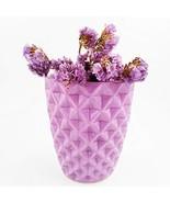 Orchid Pot, 3.7 Inch Light Purple Ceramic Flower Pot Cactus Plant Contai... - $15.96