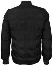 vkwear Men's Quilted Padded Insulated Heavyweight Puffer Bomber Jacket VAQ image 3