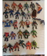 He Man HUGE Lot of 28 Figures + 15 other incomplete Figures Master of Un... - $742.50