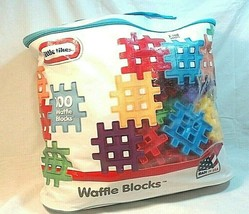 Little Tikes Waffle Blocks Bag 100 Piece - $23.36