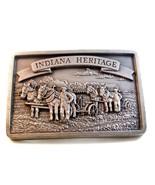 Vintage 1988 Edizione Limitata Indiana Heritage Fibbia Della Cintura 003... - $67.30