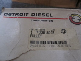 Genuine Detroit Diesel 23518219 Pully New   image 2