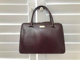 Kate Spade Lise Bixby Place Mahogany Satchel Crossbody Bag - $180.42 CAD
