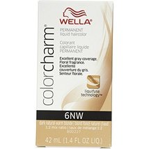 Wella Color Charm 6NW Dark Natural Warm Blonde Permanent Liquid Hair Col... - $53.43