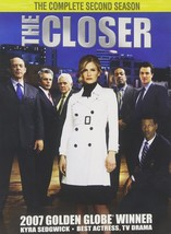 The Closer Second Complete Season 2 Two DVD Series TV Show Video Episode... - $34.64