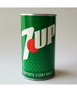 Vintage 7up Golf Balls Sealed 1970s 7UP Can Soda Advertising - $17.09