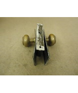 Cranby Door Knob Assembly Brass Mortise 935 Vintage - $41.61