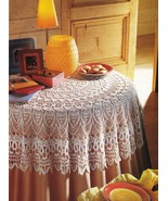 Expert Victorian Splendor Table Topper Parlor Antimacassar Doily Crochet Pattern - $11.99