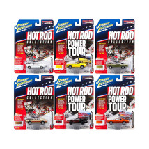 Muscle Cars USA 2017 Release 2A Set of 6 cars 1/64 Diecast Model Cars by... - $57.86