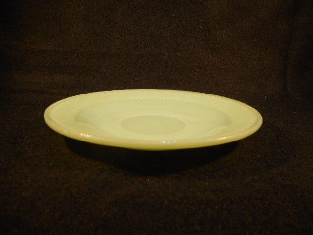 "Vintage Fire King Jadeite Jane Ray 5 3/4"" Saucer"