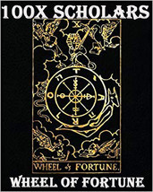 100X 7 Scholars Wheel Of Fortune Extreme Magick Work Magick Ring Pendant - $99.77