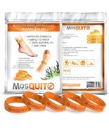 MosQuitO Repellent Bracelets 5 Pack - All Natural Ingredients Insect Rep... - $9.95