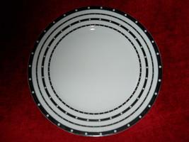 Haviland Voilette black dinner plate - $19.75