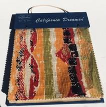 FABRIC SAMPLES Salesman BOOK Retro 60s 70s Pop Art UPHOLSTERY Barkcloth ... - $98.99