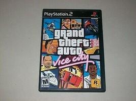 PLAYSTATION 2: Grand Theft Auto Vice City - $7.99