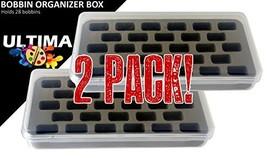 Ultima Bobbin Holder - Bobbin Case - Plastic Bobbin Storage Boxes - Plas... - $9.23