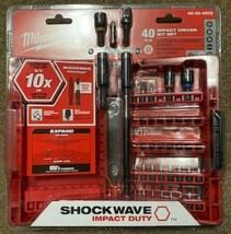 Milwaukee 48-32-4002 40-Piece Shockwave Impact-Duty Bit Set - $20.79