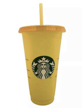 Starbucks Single Color Changing Cup 2020 - MARIGOLD-TANGERINE - New! - $12.00